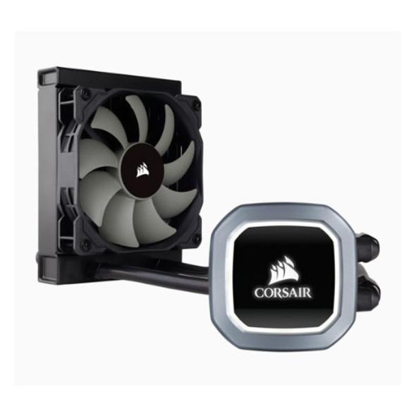 CORSAIR H60 v2 120mm Liquid CPU Cooler. LED Illuminated Pump Head, Efficient cool plate and pump. 1x12CM PWM, 1200, 115x, 1366, 2011/2066, AM2/3/4