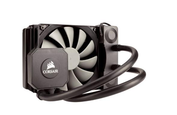 CORSAIR H45 120mm Liquid CPU Cooler 1x12CM Fan, Intel LGA: 1200, 1155, 115X, 1366, 2011, 2011-3, 2066, AMD: AM2, AM3, FM1,