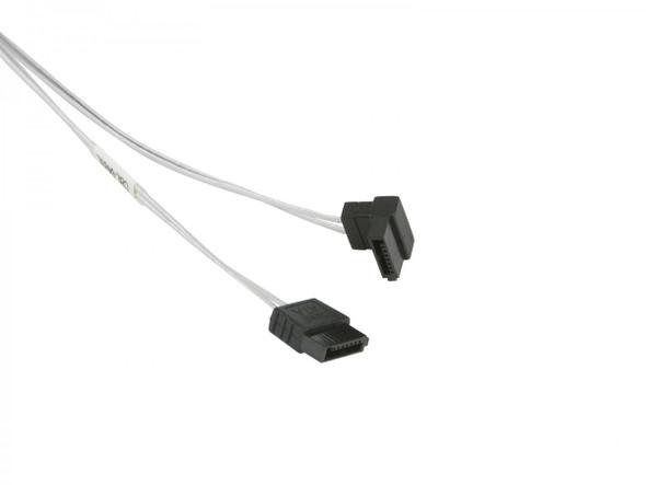 SUPERMICRO SATA Round Straight-Right Angle 70cm Cable (CBL-0489L)