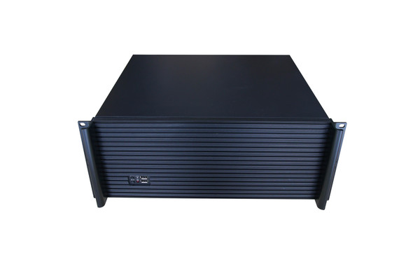 TGC Rack Mountable Server Chassis 4U 390mm Depth, 5x Int 3.5' Bays, 7x Full Height PCIE Slots, ATX PSU/MB