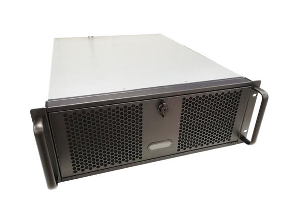 TGC Rack Mountable Server Chassis 4U 570mm Depth, 6x Ext 5.25' Bays, 4x Int 3.5' Bays, 8x Full Height PCIE Slots, ATX PSU/MB RM400