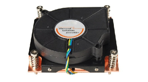 TGC Chassis Accessory 1U Universal CPU Active Cooler (Full Copper) for 775/1155/1366/2011/1151/1150/1200