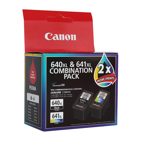 CANON PG640 CL641 XL Twin Pack