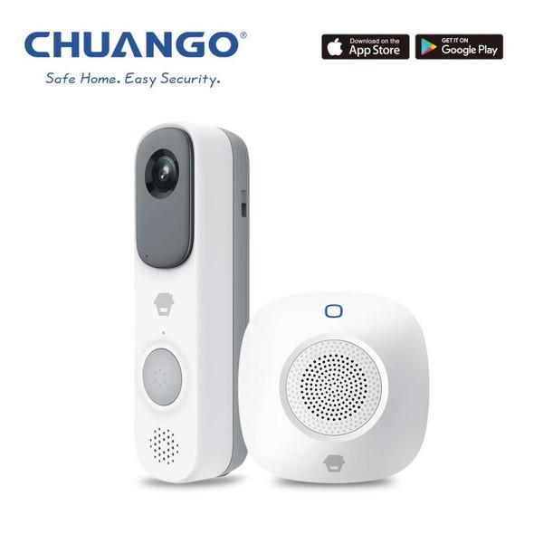 CHUANGO Smart DoorBell & Chime (D-CHWDB80)