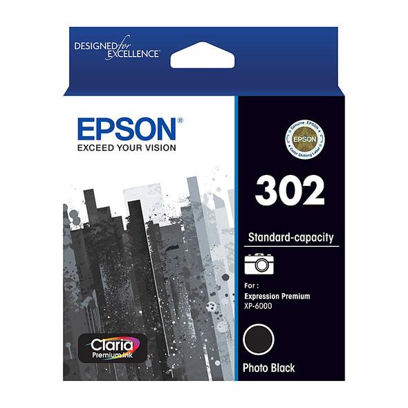 EPSON 302 Photo Black Ink Cartridge