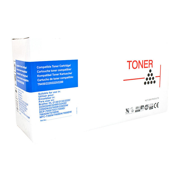 AUSTIC Premium Laser Toner Cartridge Brother TN2250 Cartridge
