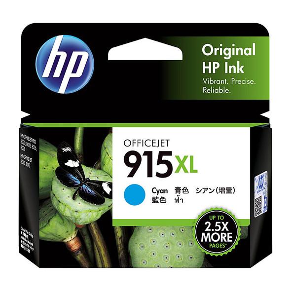 HP #915XL Cyan Ink 3YM19AA