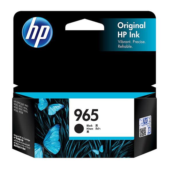 HP #965 Black Ink 3JA80AA