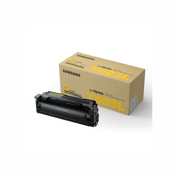 SAMSUNG CLTY603L Yellow Toner