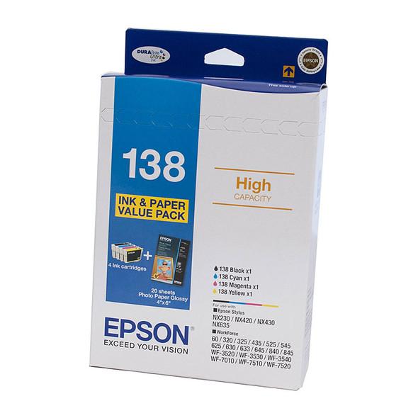 EPSON 138 Ink Bundle Pack
