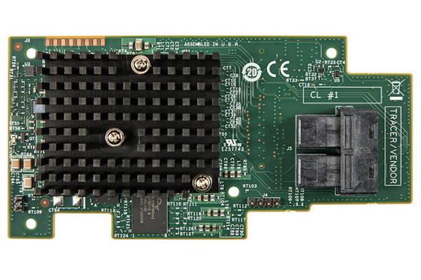 INTEL Integrated RAID Module RMS3HC080 - Storage controller (RAID) - 8 Channel - SATA 6Gb/s / SAS 12Gb/s - 12 Gbit/s - RAID 0, 1, 5, 10, 50, JBOD - PC