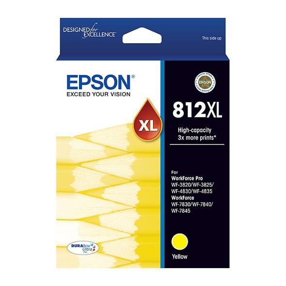 EPSON 812XL Yellow Ink Cart