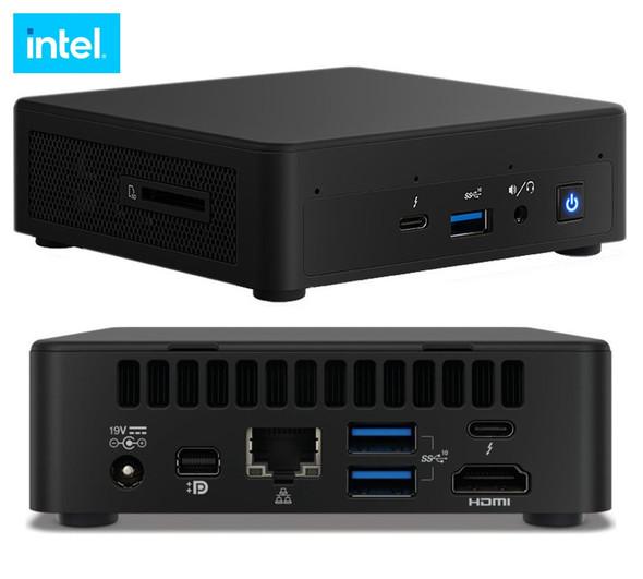 INTEL Intel NUC 11 Pro Kit Mini PC Barebone, Core i3-1115G4, SODIMM DDR4 (0/2), M.2 (0/1), UHD Graphics, GbE, WiFi 6, HDMI 2.0b (2), DP 1.4 USB-C (2)