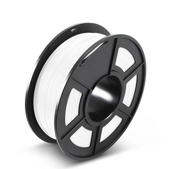 ABS 1.75mm 3D Filament White 1KG