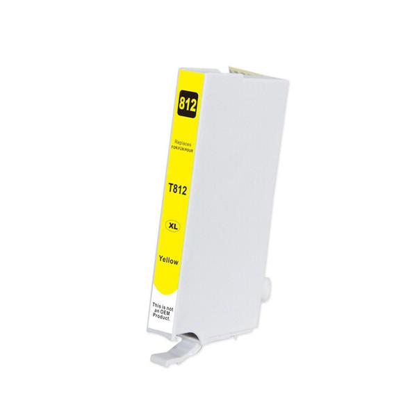 812XL Premium Yellow Compatible Inkjet Cartridge