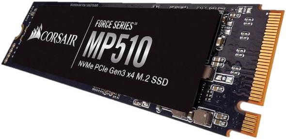 CORSAIR Force MP510 4TB NVMe PCIe SSD M.2 3480/2000 MB/s 680/580K IOPS 6820TBW 1.8M hrs MTBF AES 256-bit Encryption 5yrs