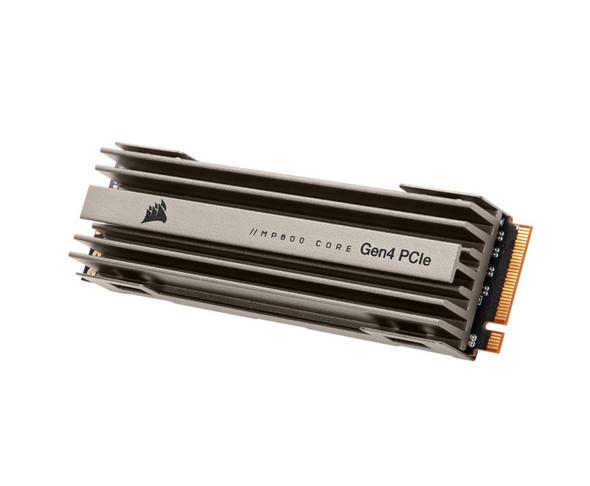 CORSAIR Force MP600 Core 1TB M.2 NVMe PCIex4 Gen4 SSD 4700/19500 MB/s 480/200K IOPS 225TBW 1.8M hrs MTBF AES 256-bit Encryption 5yrs wty
