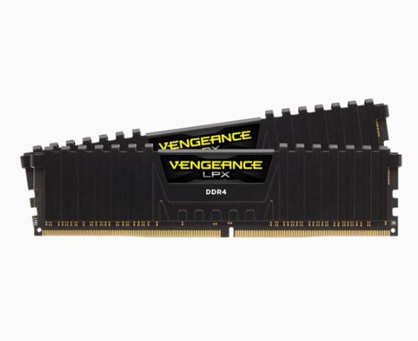 CORSAIR Vengeance LPX 32GB (2x16GB) DDR4 3200MHz C16 Desktop Gaming Memory Black AMD Ryzen