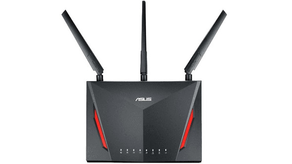 ASUS ASUS RT-AC86U AC2900 Dual Band Gigabit WiFi Gaming Router with MU-MIMO, AiMesh, AiProtection, WTFast, Adaptive QoS