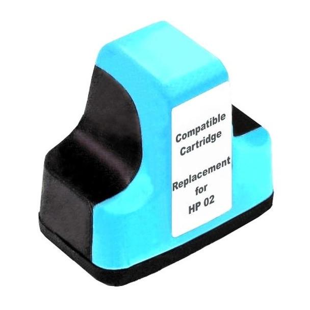 HP Compatible #02 Light Cyan High Capacity Remanufactured Inkjet Cartridge