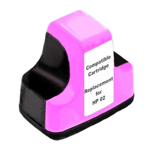 HP Compatible #02 Light Magenta High Capacity Remanufactured Inkjet Cartridge