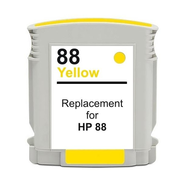 HP Compatible #88 Yellow High Capacity Remanufactured Inkjet Cartridge