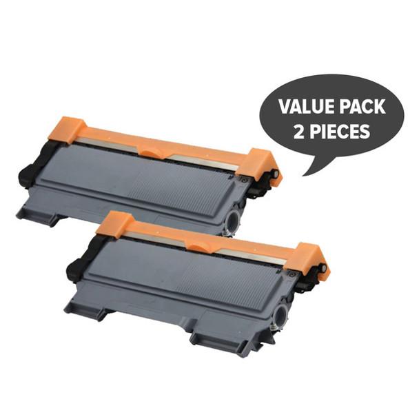 2 x TN-2250 Black Premium Generic Cartridge