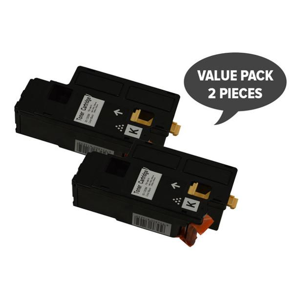 2 x 1350 Black Generic Toner Cartridge