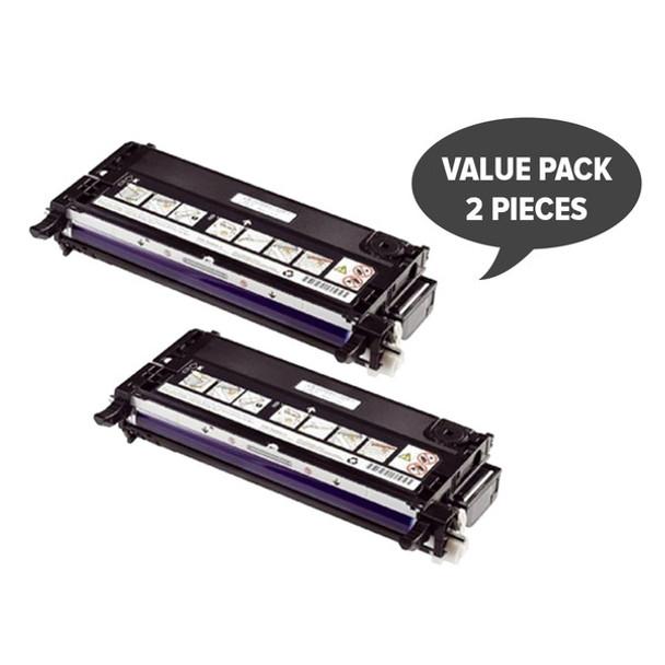 2 x 3130 Black Premium Generic Toner