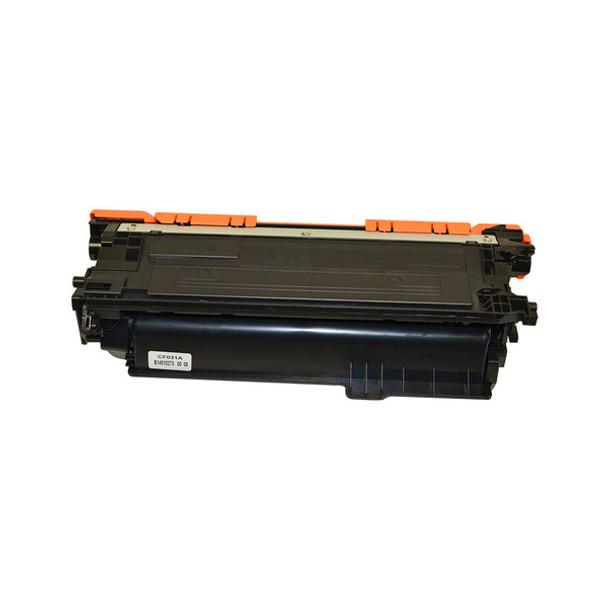 HP Compatible CF031A #646 Premium Generic Cyan Toner