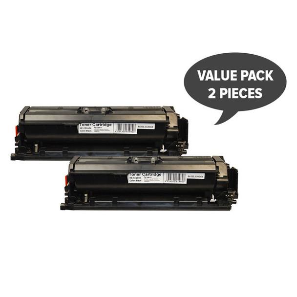 HP Compatible 2 x CE260A #647 Premium Generic Toner