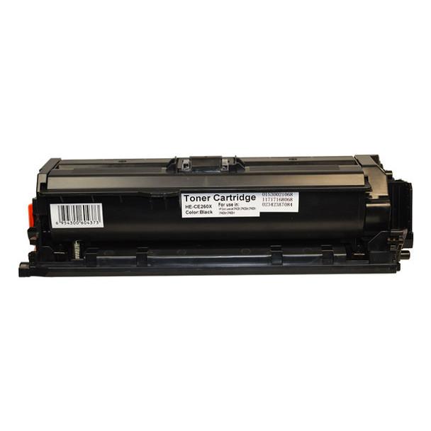 HP Compatible CE260X #649X Premium Generic Black Toner
