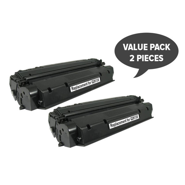 HP Compatible 2 x Q2613X HP #13X/C7115X Premium Generic Toner