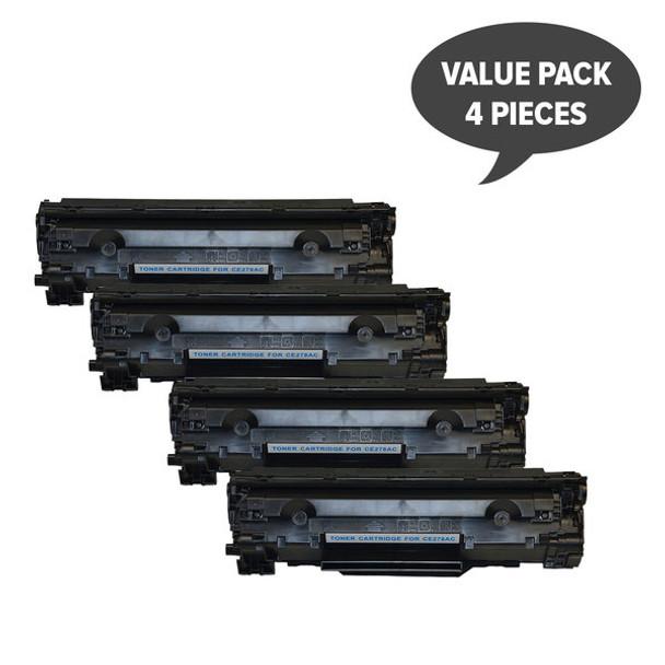 HP Compatible CE278 HP #78A Cart326 Black Generic Toner x 4