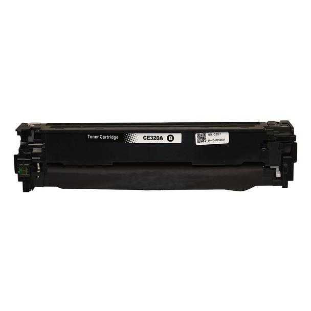 HP Compatible CE320 #128A Black Premium Generic Toner
