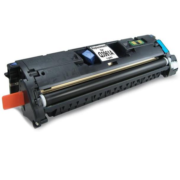 HP Compatible Q3961A C9701 C3960 EP87 CART301C Cyan Toner Cartridge