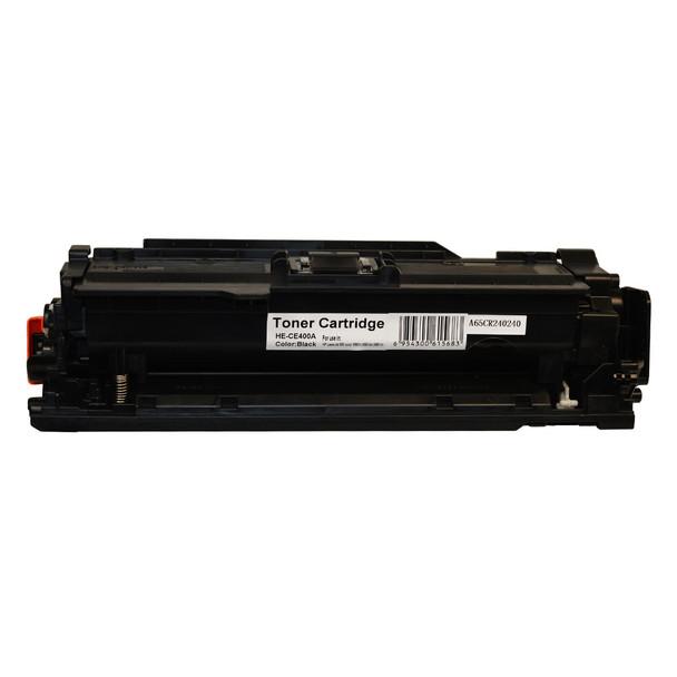 HP Compatible CE400A #507A Premium Generic Black Toner