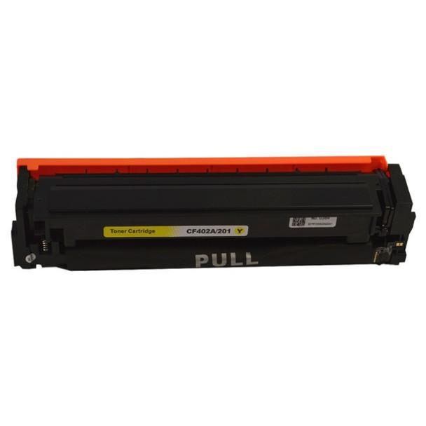 HP Compatible CF402A #201A Premium Generic Yellow Toner Cartridge