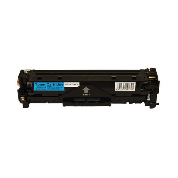 HP Compatible CE411A #305 Premium Generic Cyan Toner