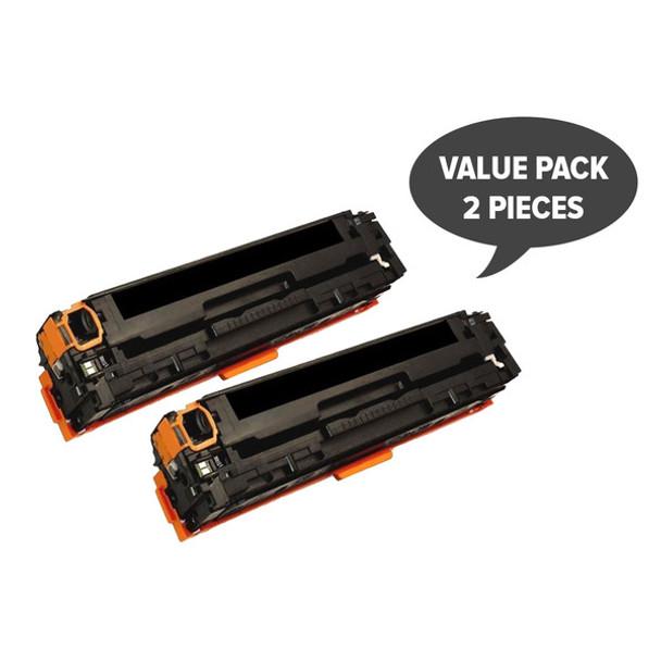 HP Compatible 2 x CART-316BK CB540A #125A CART-416BK Black Premium Generic Toner