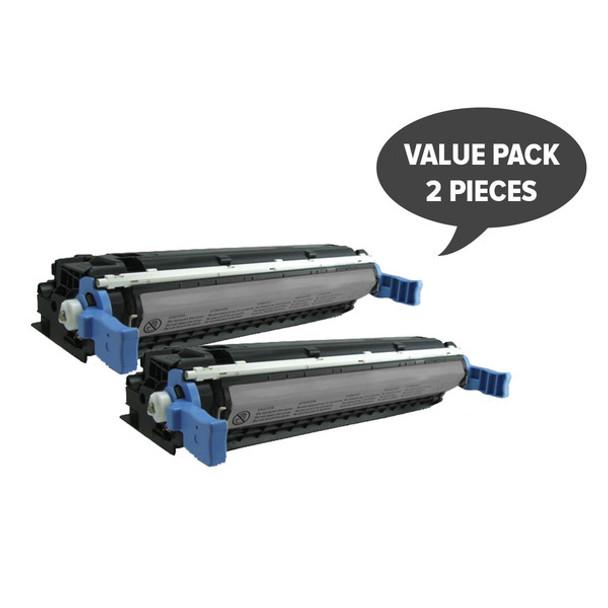 HP Compatible 2 x C9720A 4600B 4650B Black Premium Generic Toner
