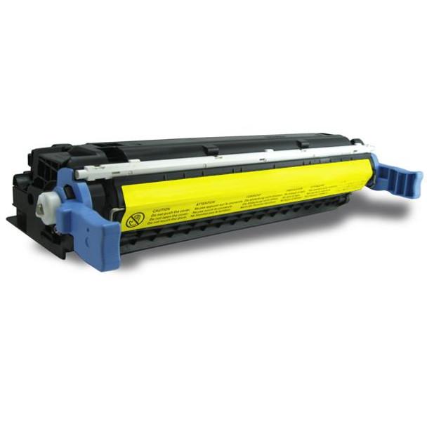 HP Compatible C9722A 4600M 4650M Yellow Premium Generic Toner Cartridge