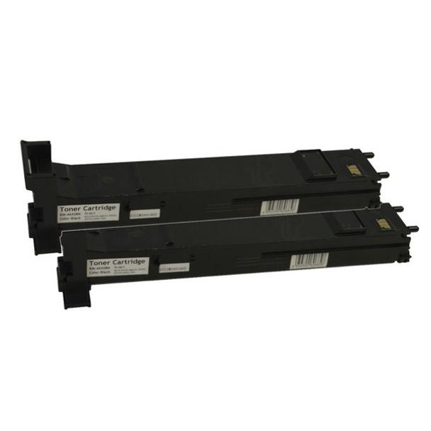 A0DK192 Premium Generic Black Toner Cartridge x 2