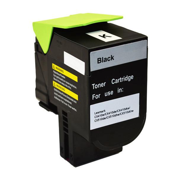 80C8HK0 CX410 CX510 Black Premium Generic Toner