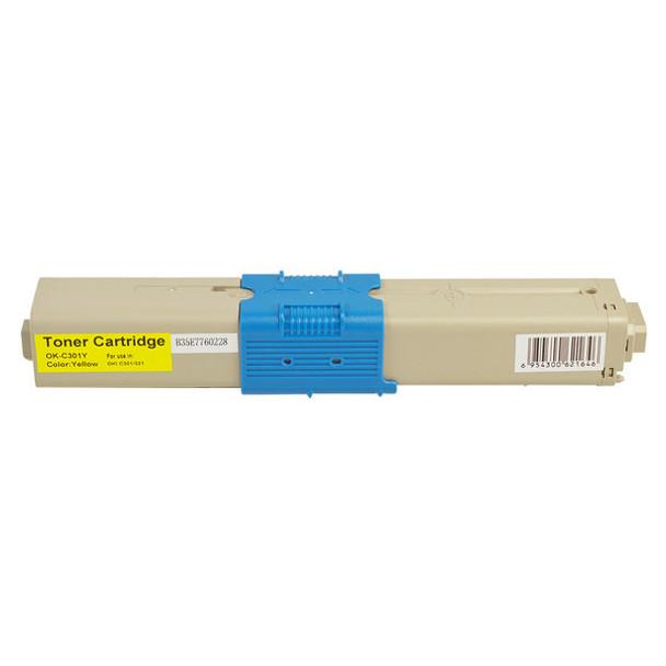 OKI #301 Yellow Premium Generic Toner 44973545