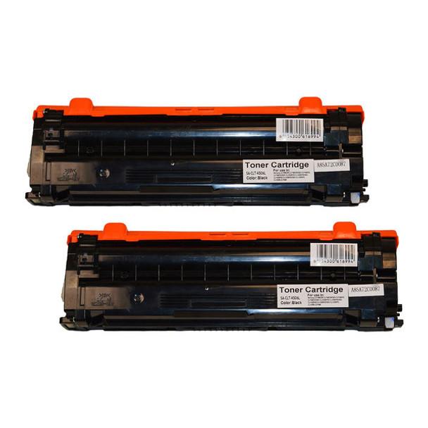 CLT-506L Black Premium Generic Remanufactured Toner Cartridge x 2