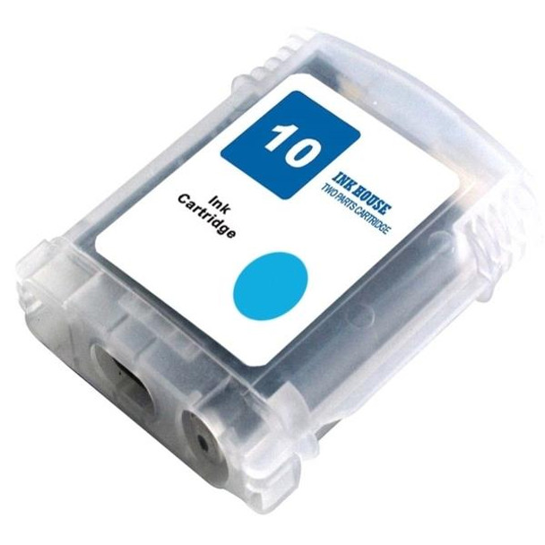 HP Compatible #10 Cyan Compatible Inkjet Cartridge