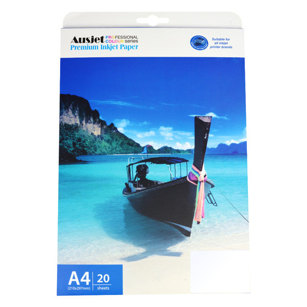 200gm A4 Doublesided Hi Gloss/Matte Paper (20 Sheets)