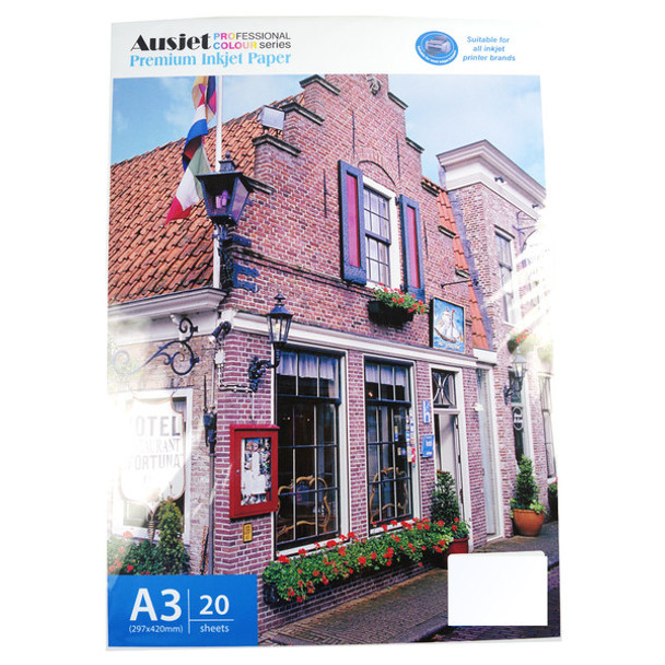 260gm A3 RC Glossy Photo (20 Sheets)