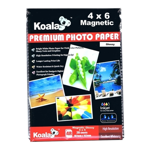 640gm Magnetic (4x6) Paper (5 Sheets)